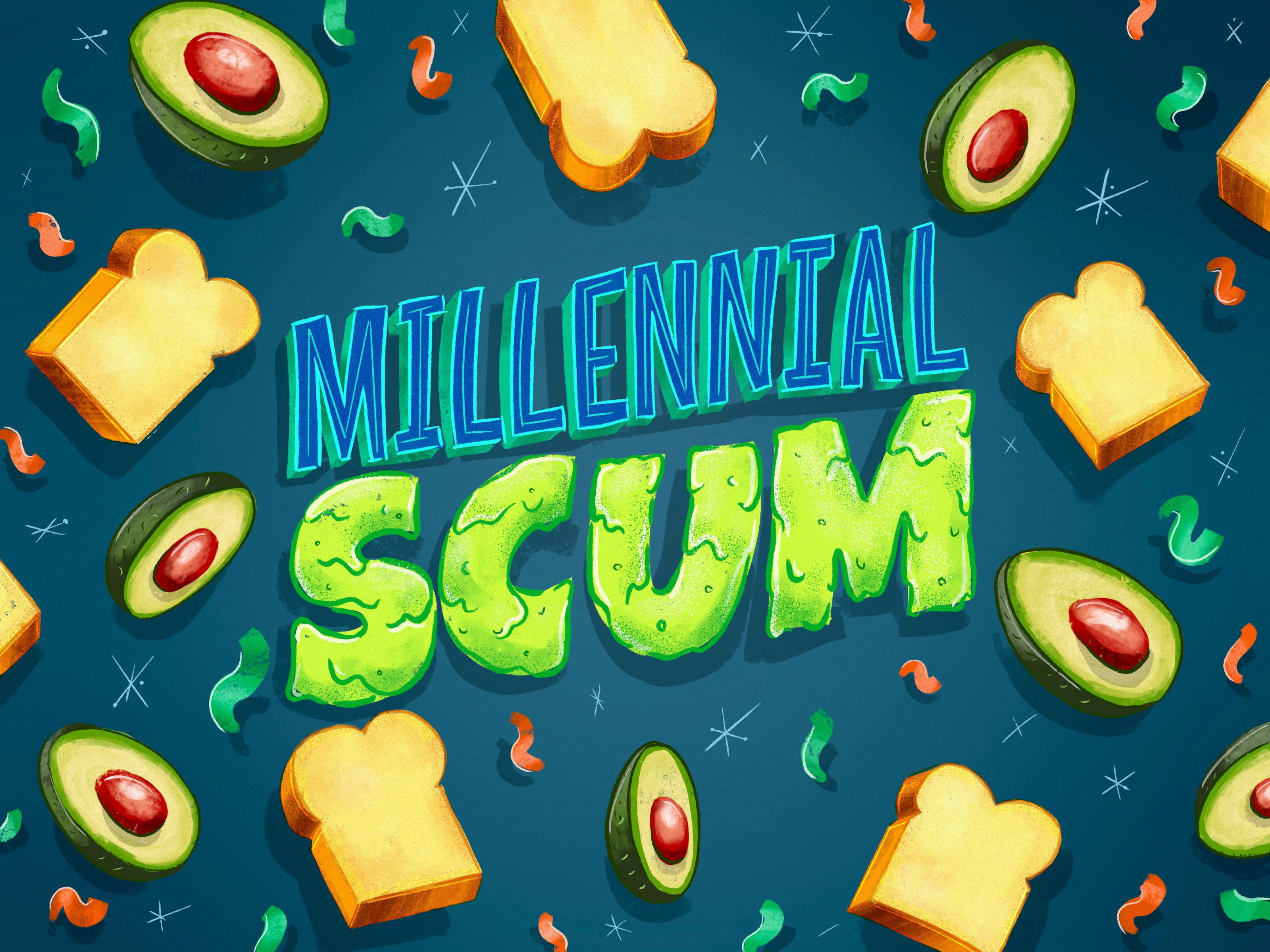 portfolio – lettering – millennial