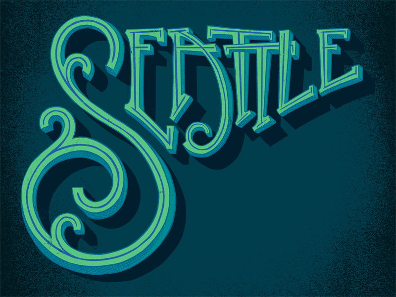 portfolio – lettering – seattle